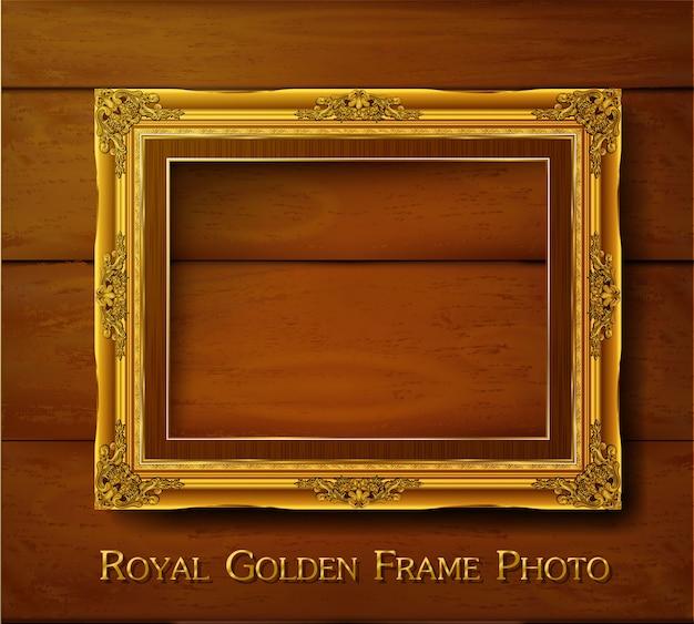 Decorative vintage frame and border