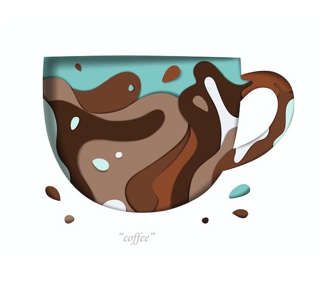 Decorative vivid cup
