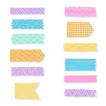Decorative washi tape collection