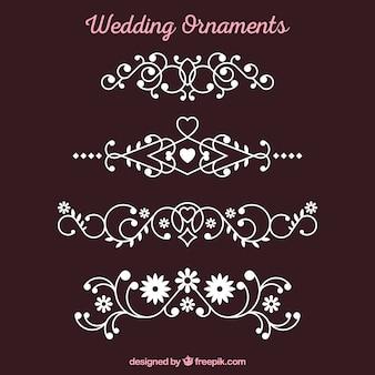 Декоративная коллекция свадебных украшений