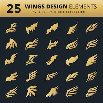 Decorative wings collection