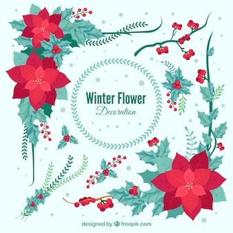 Decorative winter flowers