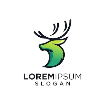 Deer green logo