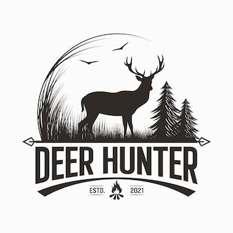 鹿狩りのロゴ