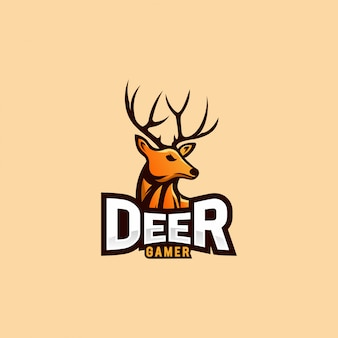 Deer logo design for esport logo