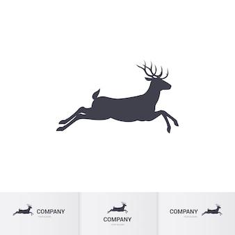 鹿のマスコット