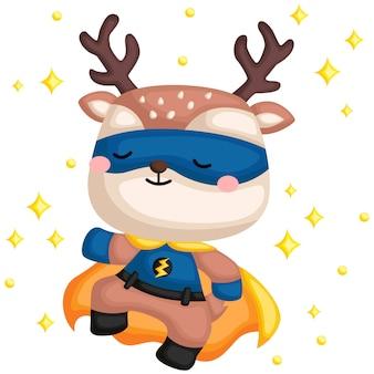 Deer superhero