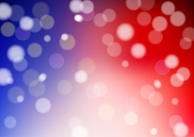 Defocused abstract vector light bokeh background