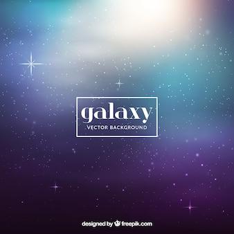 Defocused galaxy background