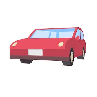Deformed car