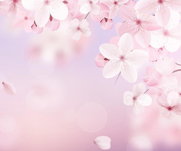 Delicate floral design.