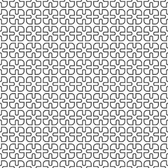Delicate monochrome seamless pattern