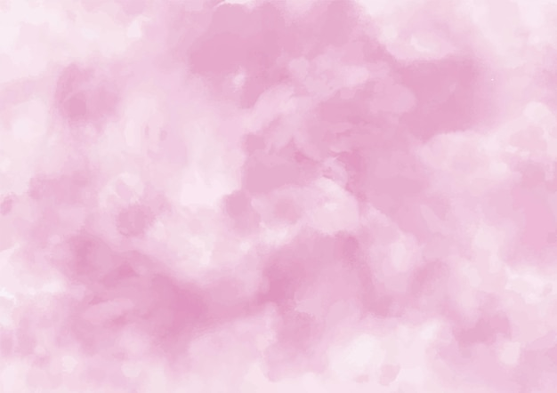 Delicate pink watercolor background