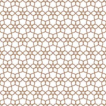 Delicate seamless flower pattern in oriental style