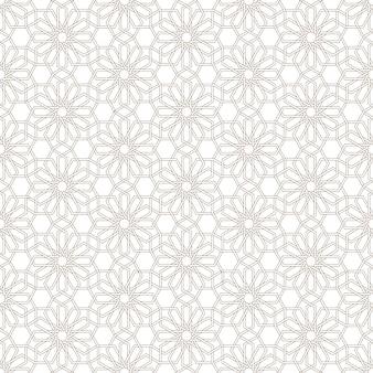 Delicate seamless pattern  in arabian style