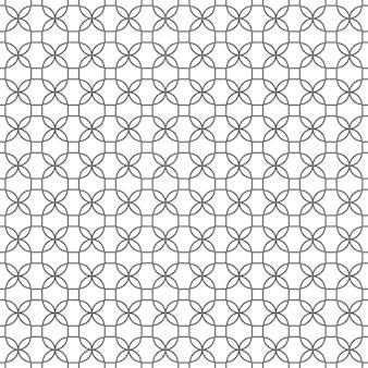 Delicate seamless pattern in arabic style