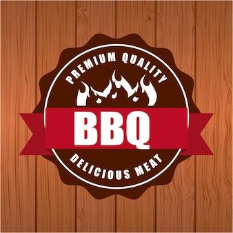Delicious barbecue barbeque