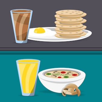 Delicious breakfast and lunch menu restaurant