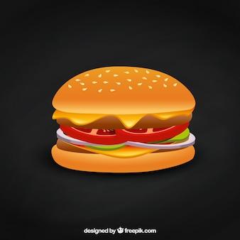 Hamburger delicious