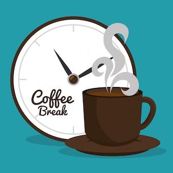 Delicious coffee break design