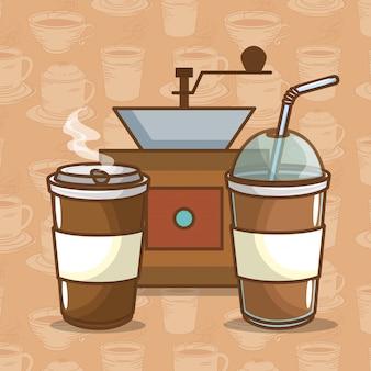 맛있는 커피 타임 요소