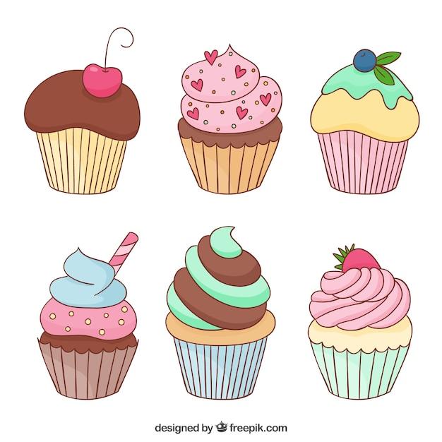cupcake vectors photos and psd files free download rh freepik com cupcake factory cake vectors