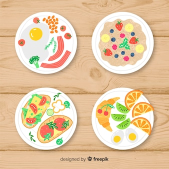 Delicious dishes collection