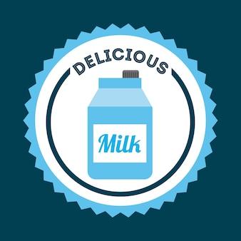 Delicious drink design, vector illustration eps10 graphic