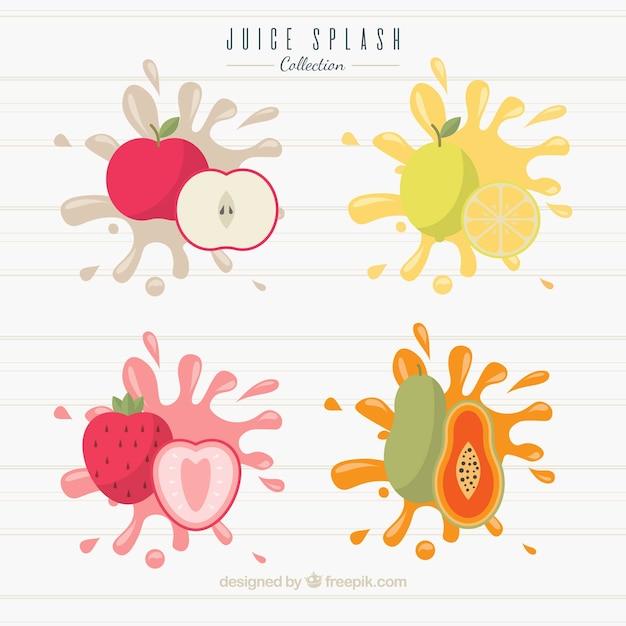 fruit splash vectors photos and psd files free download rh freepik com