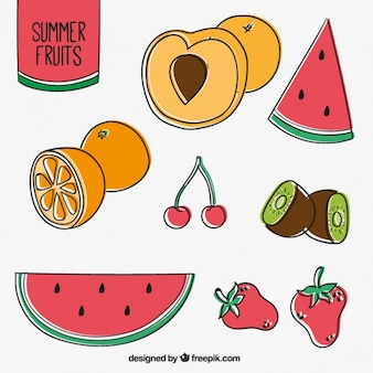 Delicious summer fruit