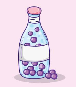 おいしい夏のジュースベクトルイラストグラフィックデザイン
