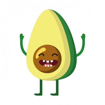 Delicious tasty vegetable cartoon