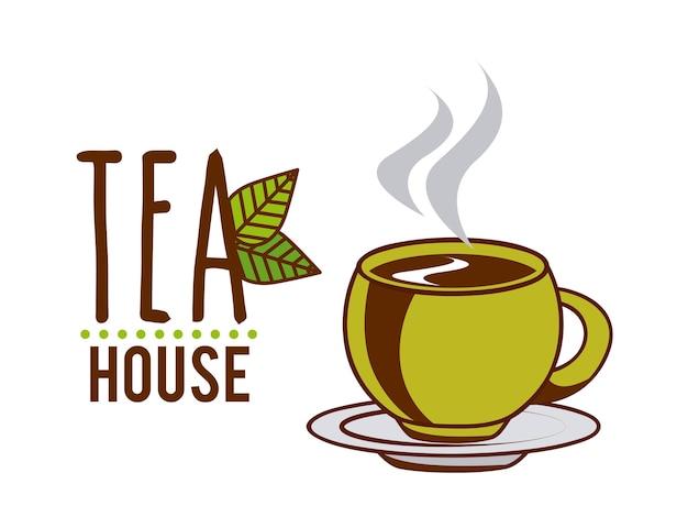 Delicious tea design