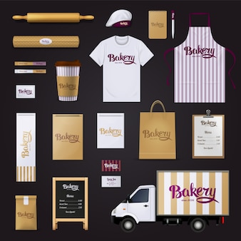 Deliciously creative bakery pastry shop visual