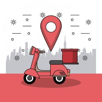 Deliveries of addresses