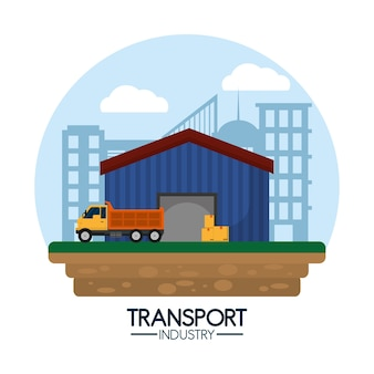 Delivery and industry transport service