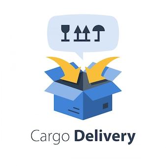 Коробка доставки