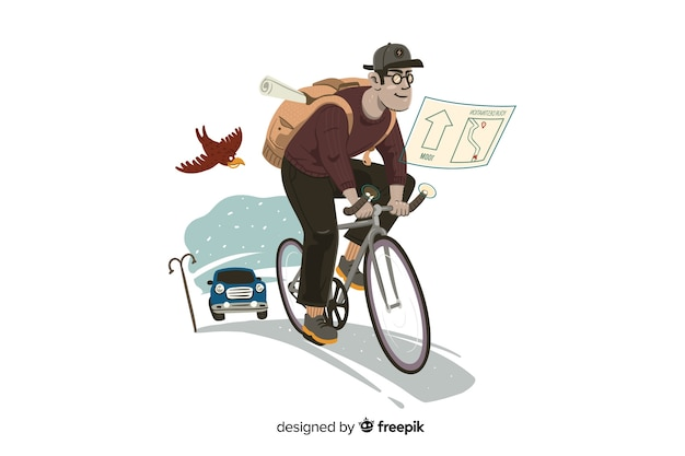 Delivery concept illustration