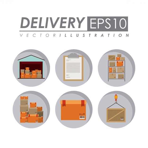 Delivery illustration.