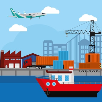 Delivery and logistics business service