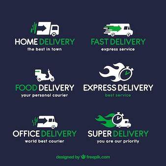企業向け配送ロゴ