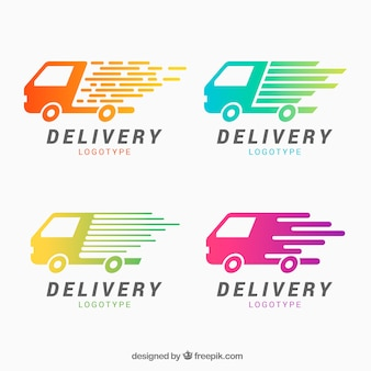 Delivery logos for companies