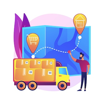 Delivery point illustration