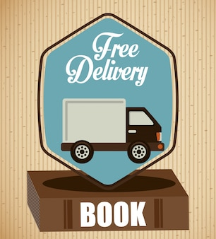 Delivery service books