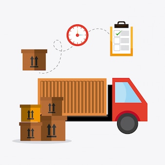 Delivery,transport and logistics business