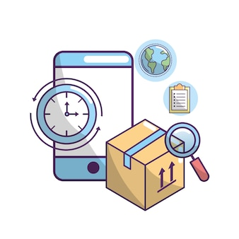 Delivery transportation to package order service