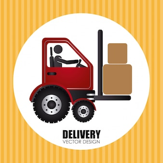 Delivery over yellow