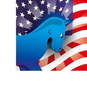 Democrat party design