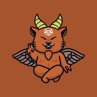 悪魔の猫のキャラクター
