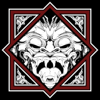Demon illustration